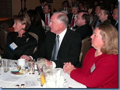 Barbara Barrett, Craig Barrett, and Joan Koerber-Walker at the Arizona Technology Council, Photo Courtesy of Mark Goldstein, International Research Center