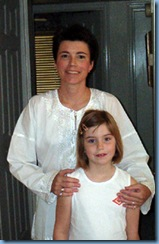Judith Ann Hillard and her daughter Olivia Grace