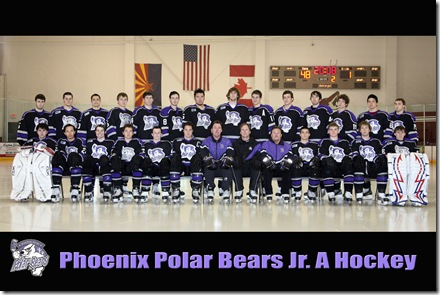 The 2008 Phoenix Polar Bears - USA Hockey Junior A Bronze Medialists